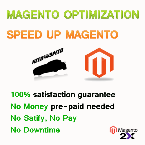 magento optimization and speed up load page services