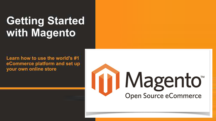get started with magento