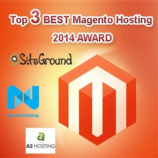 top 3 best magento hosting award 2014