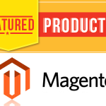 Set up featured products in Homepage for Magento