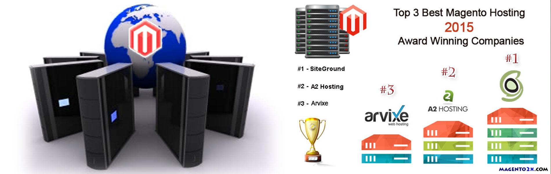 Top 3 Best Magento Hosting 2015 Award Winning Companies