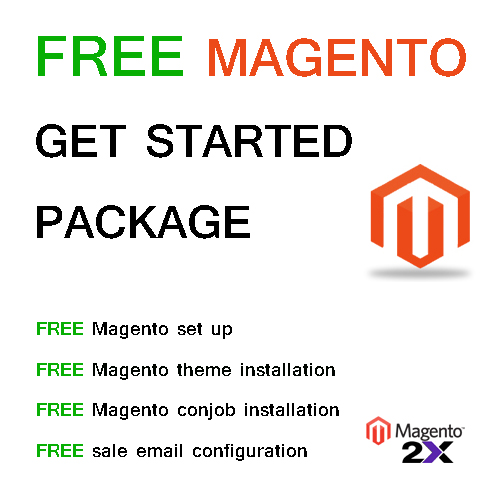 FREE Magento get started Package