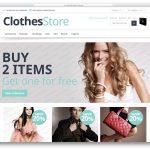 Free Clothes Store Magento Theme 1.9