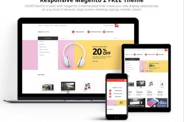 Top 10 Free business Magento themes